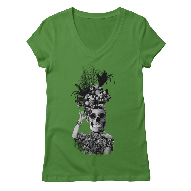 Carnival Women's Regular V-Neck by edulobo's Artist Shop