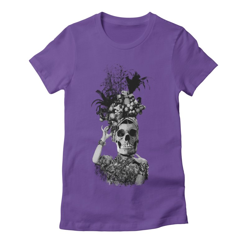 Carnival Women's Fitted T-Shirt by edulobo's Artist Shop