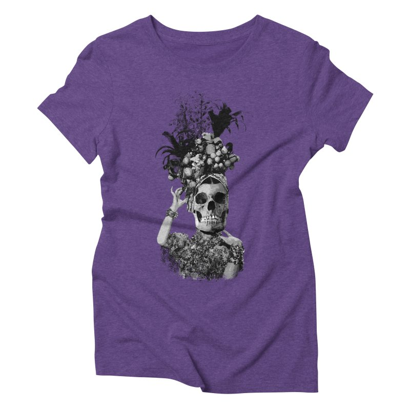 Carnival Women's Triblend T-Shirt by edulobo's Artist Shop