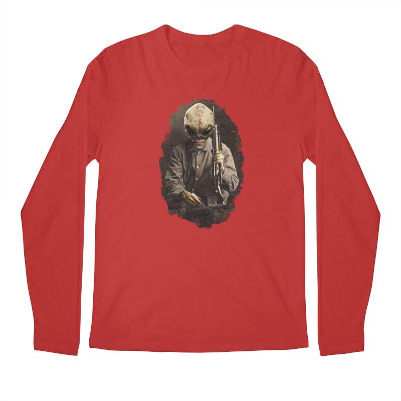 Hunter Men's Longsleeve T-Shirt by edulobo's Artist Shop