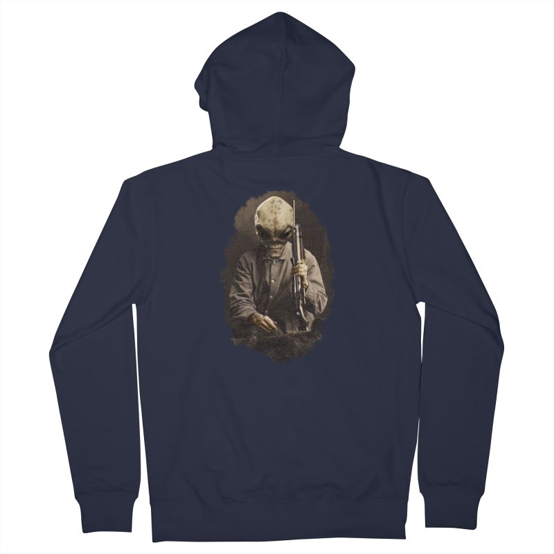 Hunter Women's Zip-Up Hoody by edulobo's Artist Shop