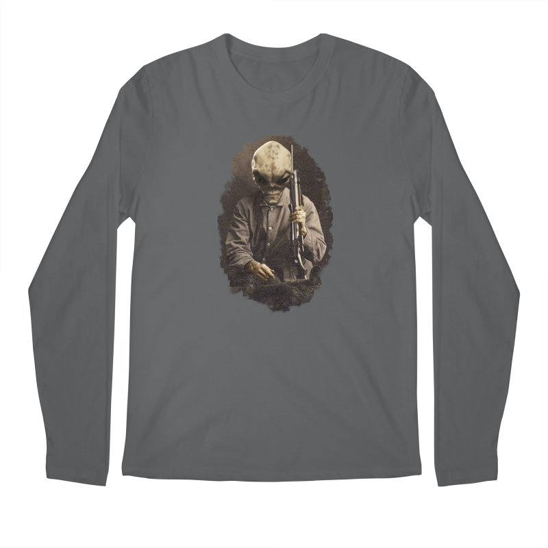 Hunter Men's Longsleeve T-Shirt by edulobo's Artist Shop