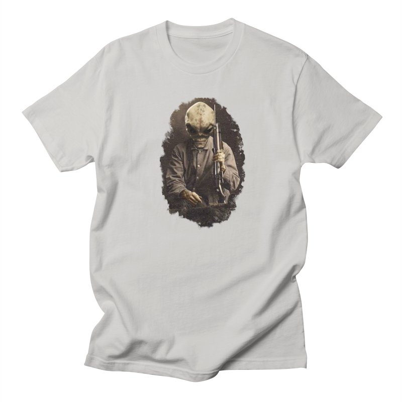 Hunter Men's T-shirt by edulobo's Artist Shop