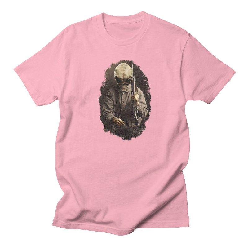 Hunter Men's Regular T-Shirt by edulobo's Artist Shop