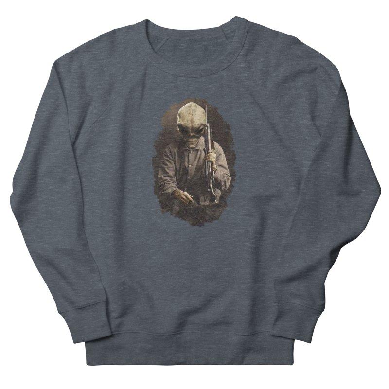 Hunter Women's French Terry Sweatshirt by edulobo's Artist Shop