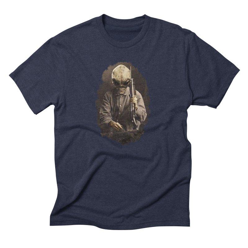 Hunter Men's Triblend T-Shirt by edulobo's Artist Shop