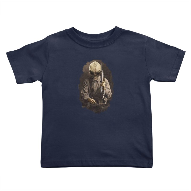 Hunter Kids Toddler T-Shirt by edulobo's Artist Shop