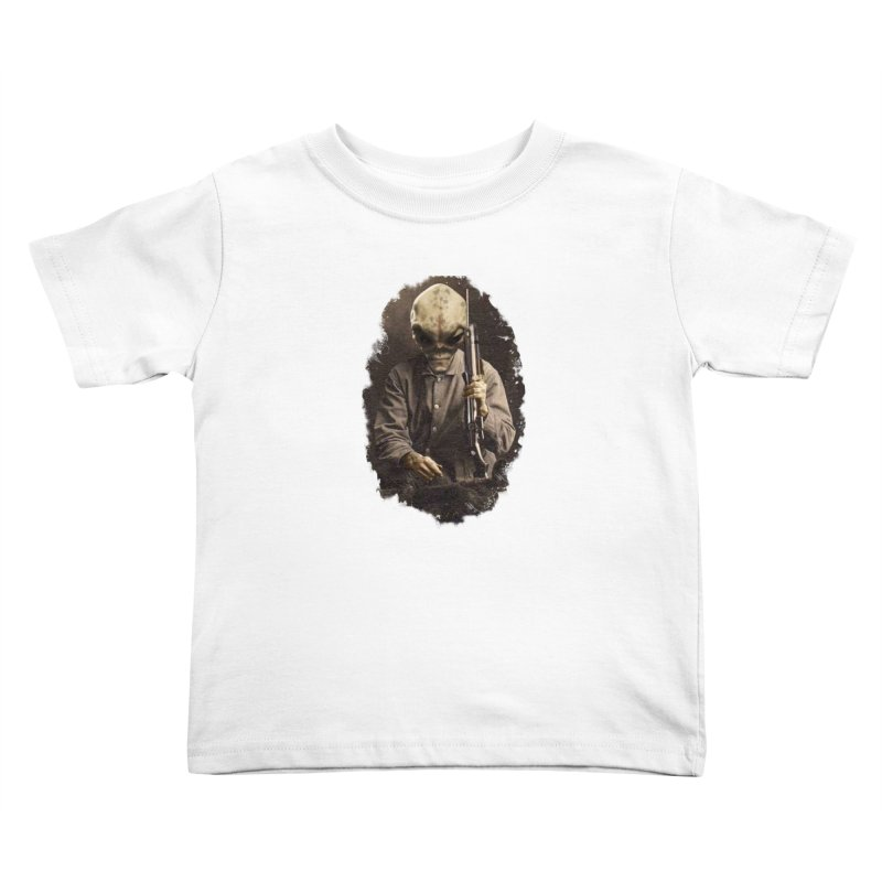 Hunter Kids Toddler T-Shirt by edulobo's Artist Shop