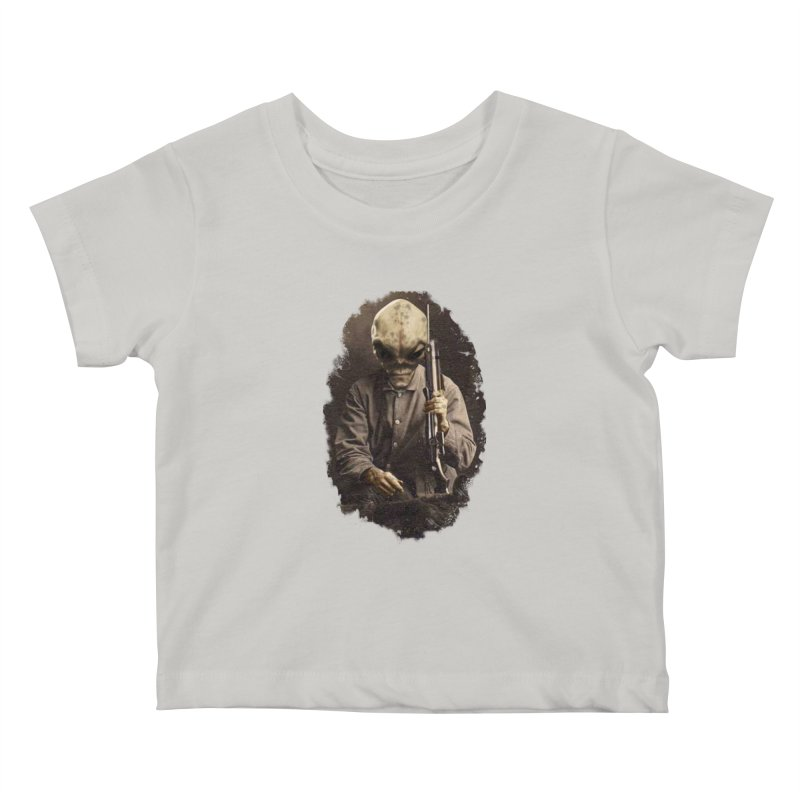 Hunter Kids Baby T-Shirt by edulobo's Artist Shop