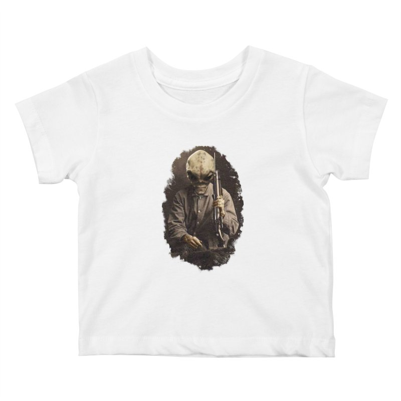 Hunter Kids Baby T-Shirt by edulobo's Artist Shop