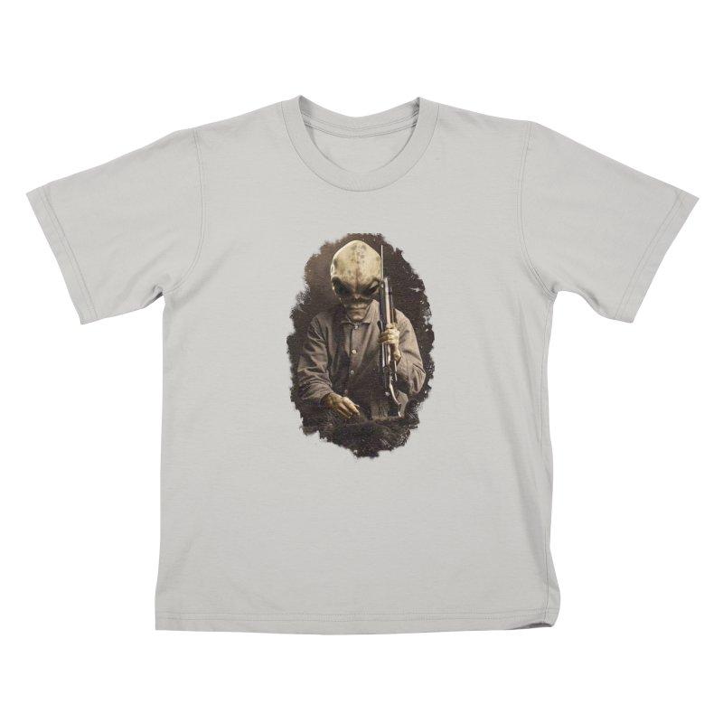 Hunter Kids T-Shirt by edulobo's Artist Shop