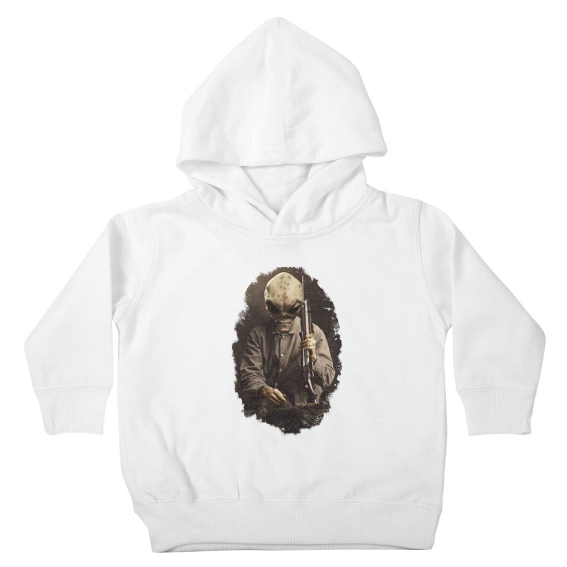 Hunter Kids Toddler Pullover Hoody by edulobo's Artist Shop