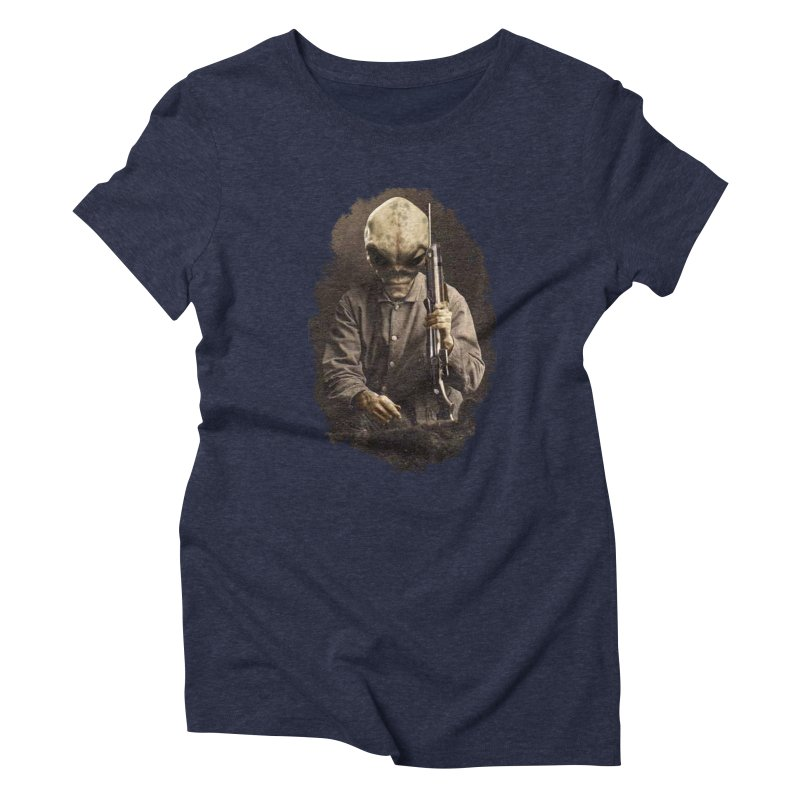 Hunter Women's Triblend T-Shirt by edulobo's Artist Shop