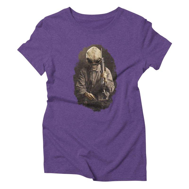 Hunter Women's Triblend T-Shirt by edulobo's Artist Shop