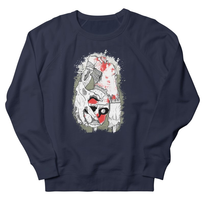 Captain Men's French Terry Sweatshirt by edulobo's Artist Shop