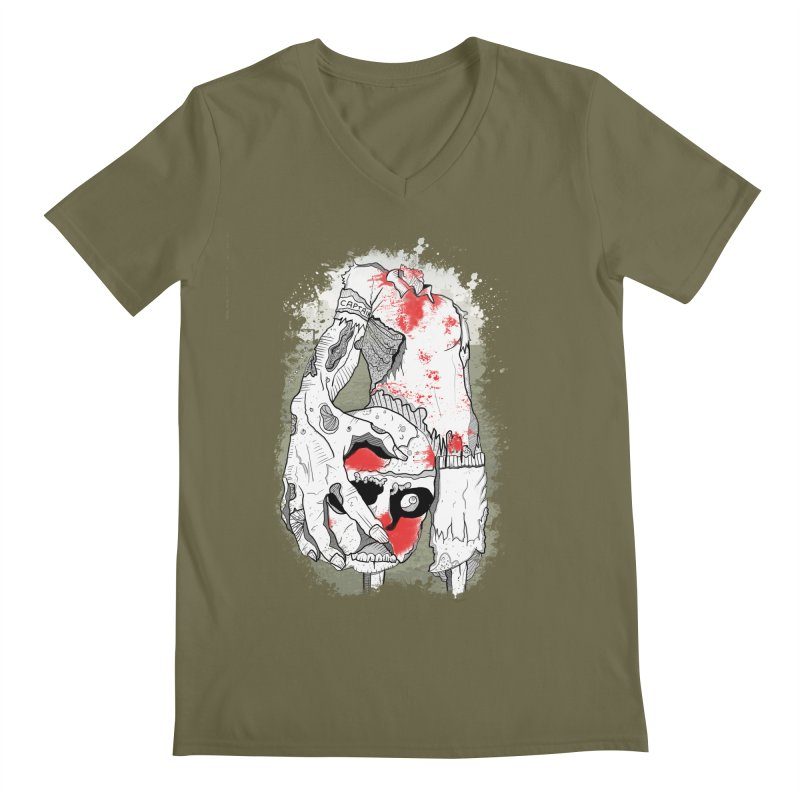 Captain Men's V-Neck by edulobo's Artist Shop