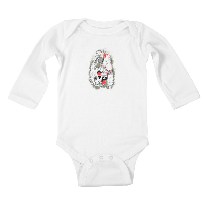 Captain Kids Baby Longsleeve Bodysuit by edulobo's Artist Shop