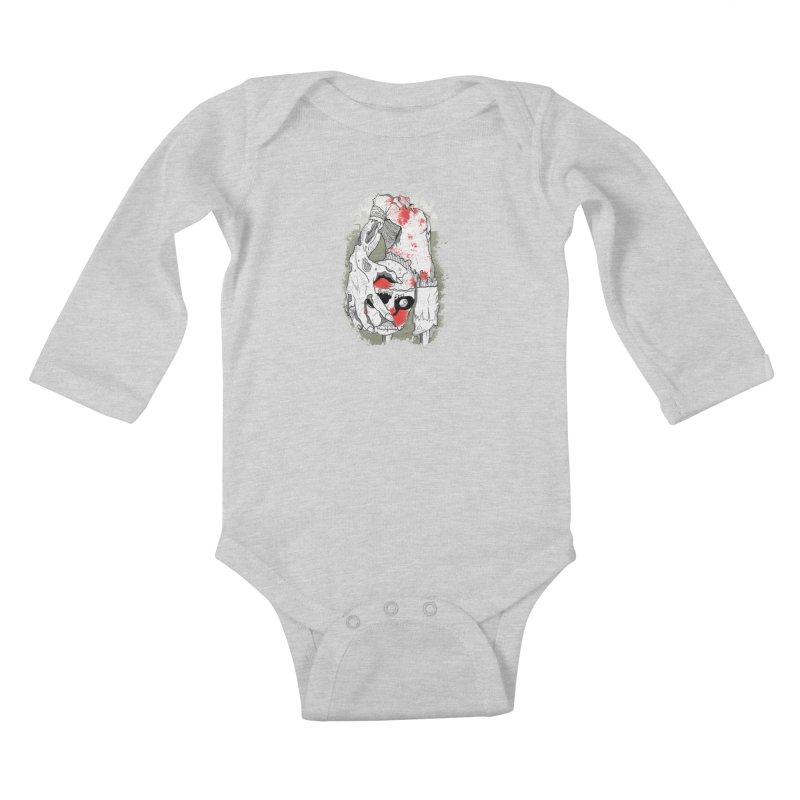 Captain Kids Baby Longsleeve Bodysuit by edulobo's Artist Shop