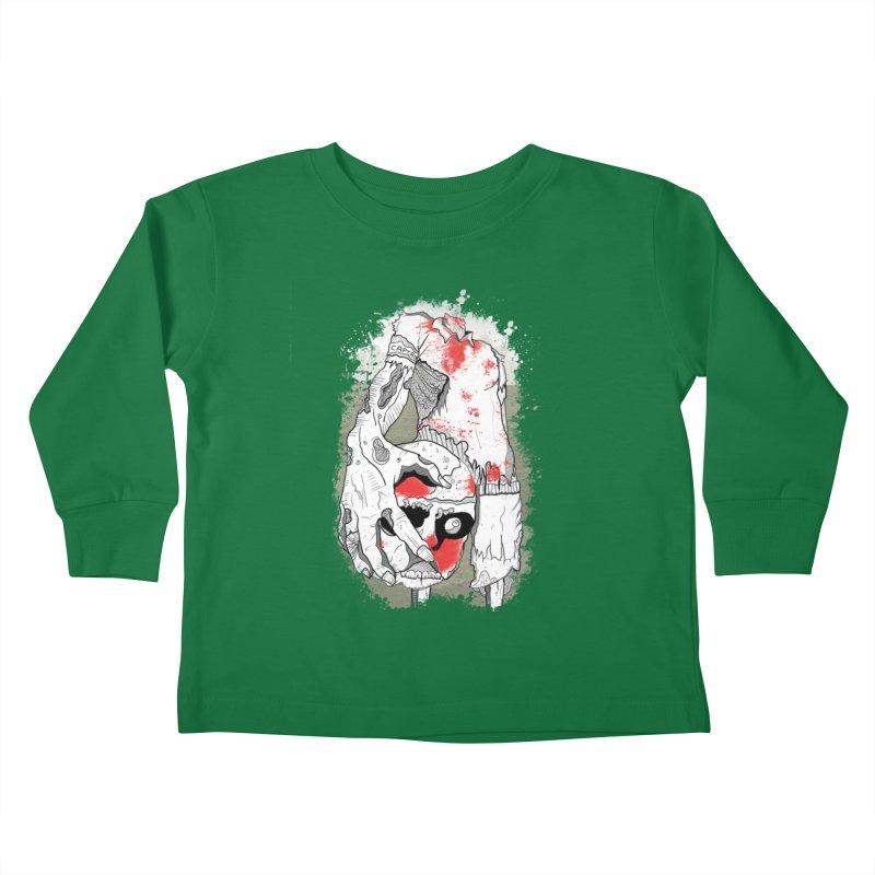 Captain Kids Toddler Longsleeve T-Shirt by edulobo's Artist Shop