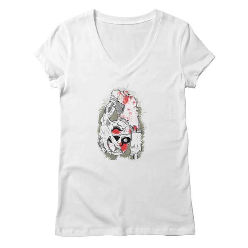 Captain Women's V-Neck by edulobo's Artist Shop