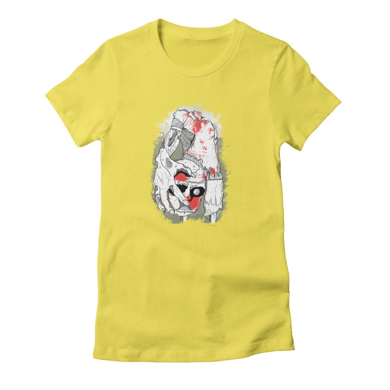 Captain Women's Fitted T-Shirt by edulobo's Artist Shop