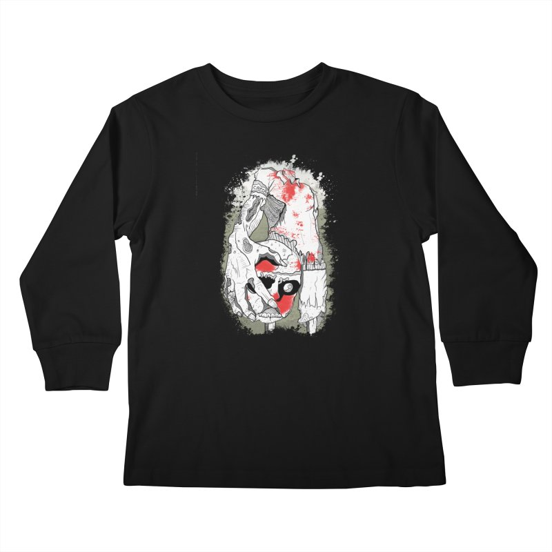 Captain Kids Longsleeve T-Shirt by edulobo's Artist Shop