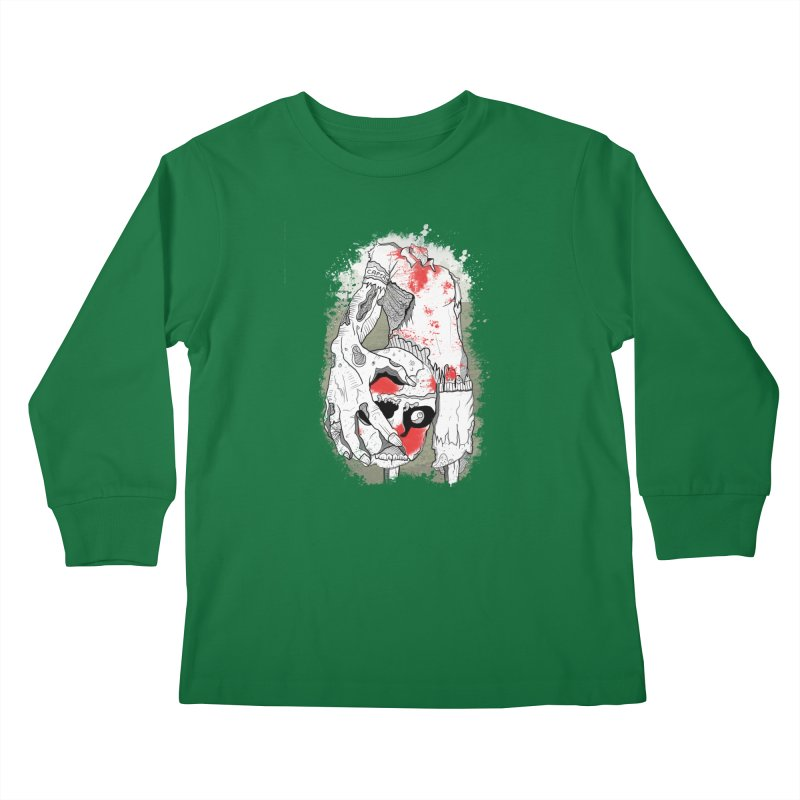 Captain Kids Longsleeve T-Shirt by edulobo's Artist Shop