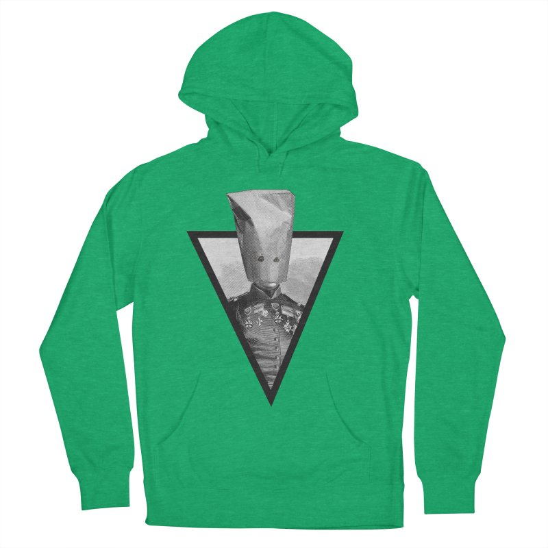 paper bag head Men's French Terry Pullover Hoody by edulobo's Artist Shop