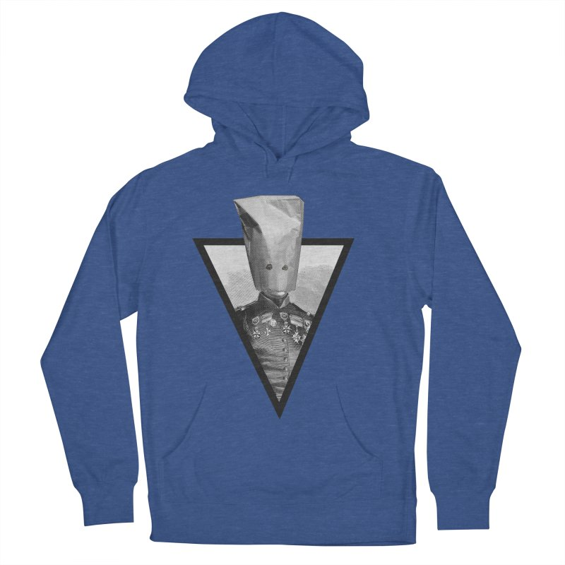 paper bag head Men's Pullover Hoody by edulobo's Artist Shop