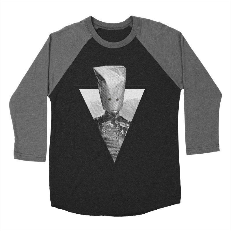 paper bag head Men's Baseball Triblend T-Shirt by edulobo's Artist Shop