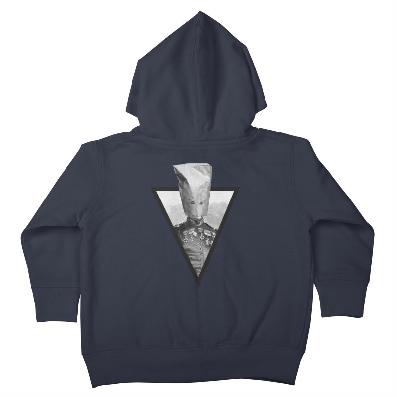 paper bag head Kids Toddler Zip-Up Hoody by edulobo's Artist Shop