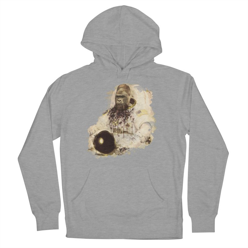 Space Women's French Terry Pullover Hoody by edulobo's Artist Shop