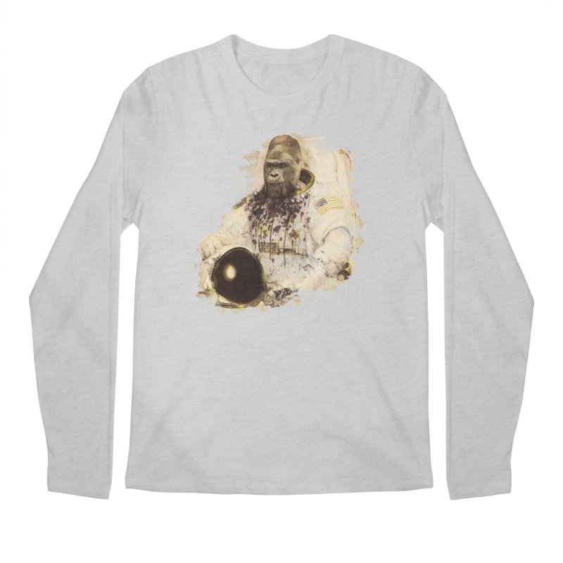 Space Men's Longsleeve T-Shirt by edulobo's Artist Shop