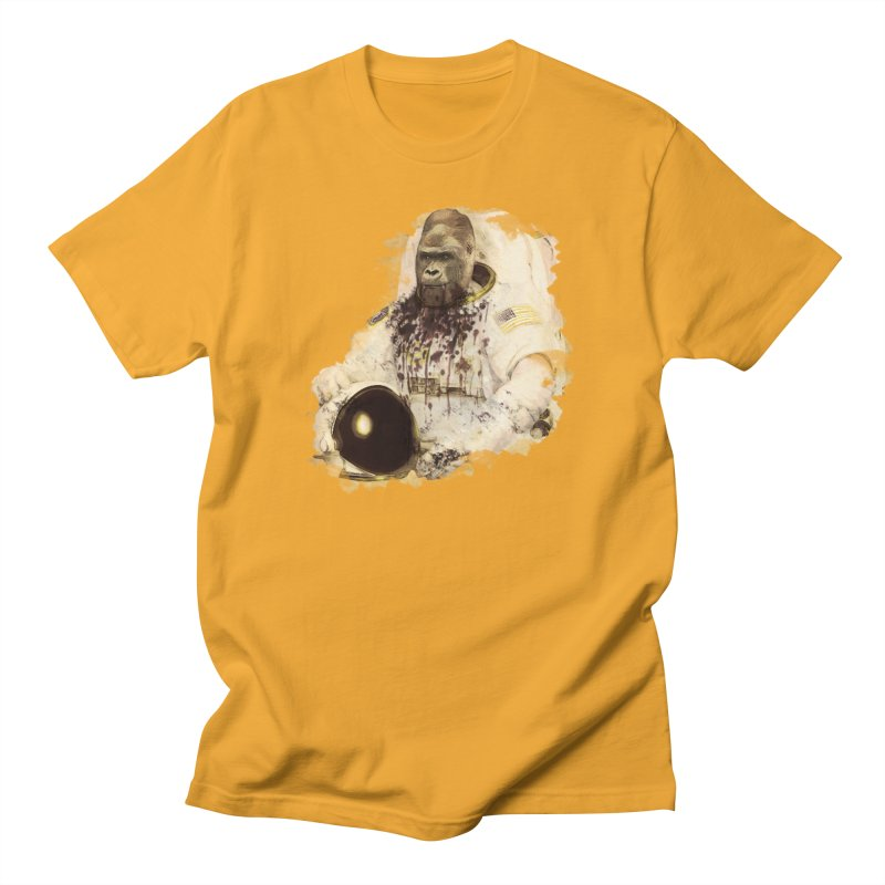 Space Men's Regular T-Shirt by edulobo's Artist Shop