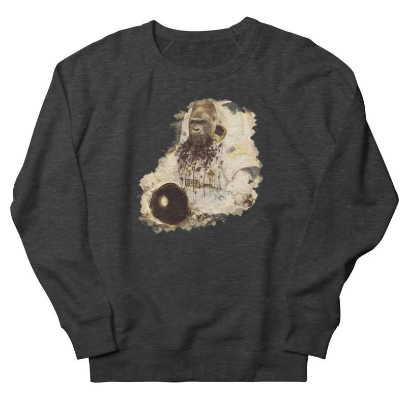 Space Men's French Terry Sweatshirt by edulobo's Artist Shop