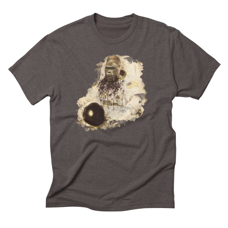 Space Men's Triblend T-shirt by edulobo's Artist Shop