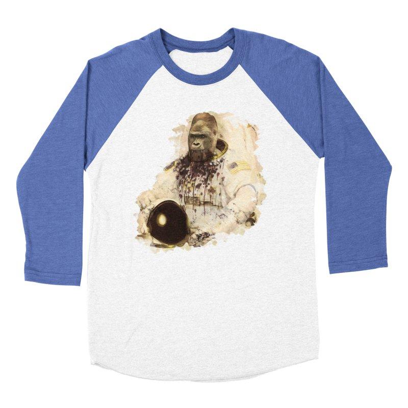 Space Women's Baseball Triblend T-Shirt by edulobo's Artist Shop