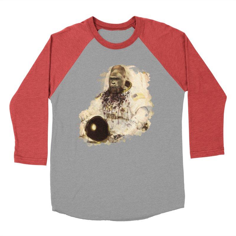 Space Women's Baseball Triblend Longsleeve T-Shirt by edulobo's Artist Shop