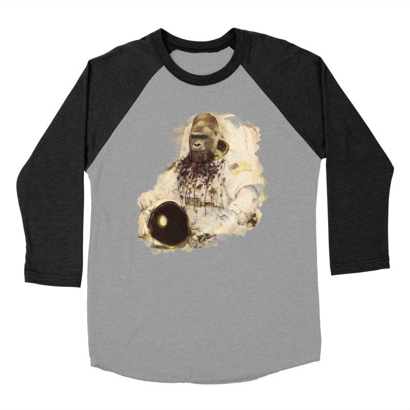 Space Men's Baseball Triblend T-Shirt by edulobo's Artist Shop
