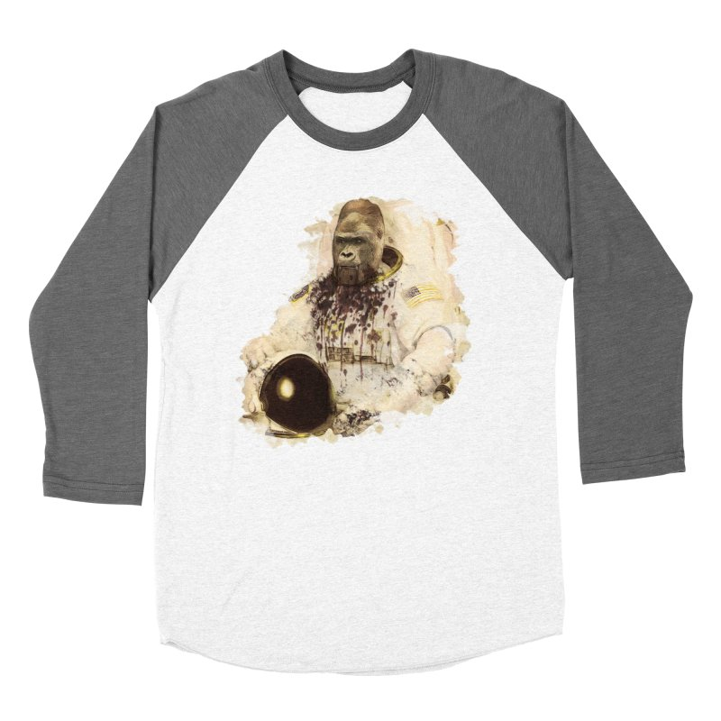 Space Men's Baseball Triblend Longsleeve T-Shirt by edulobo's Artist Shop