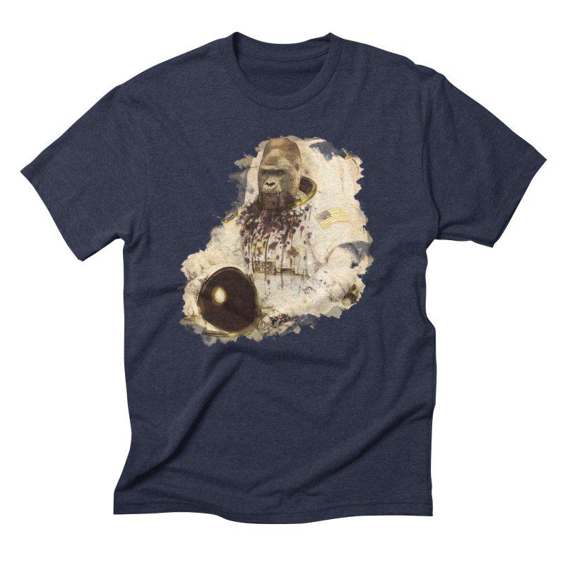 Space Men's Triblend T-shirt by edulobo's Artist Shop