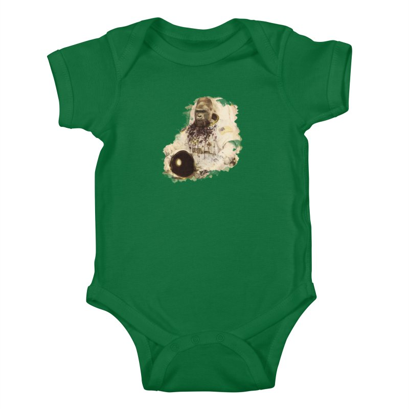 Space Kids Baby Bodysuit by edulobo's Artist Shop