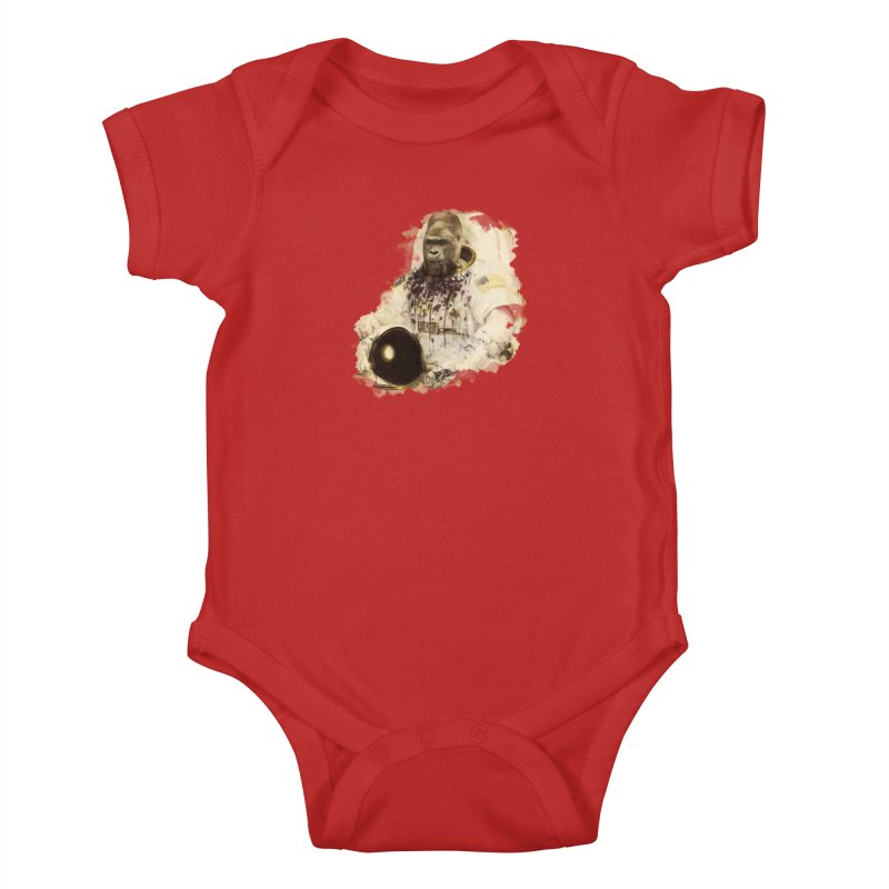 Space Kids Baby Bodysuit by edulobo's Artist Shop