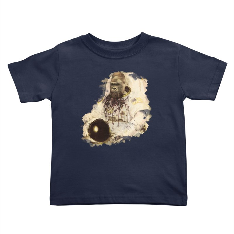 Space Kids Toddler T-Shirt by edulobo's Artist Shop