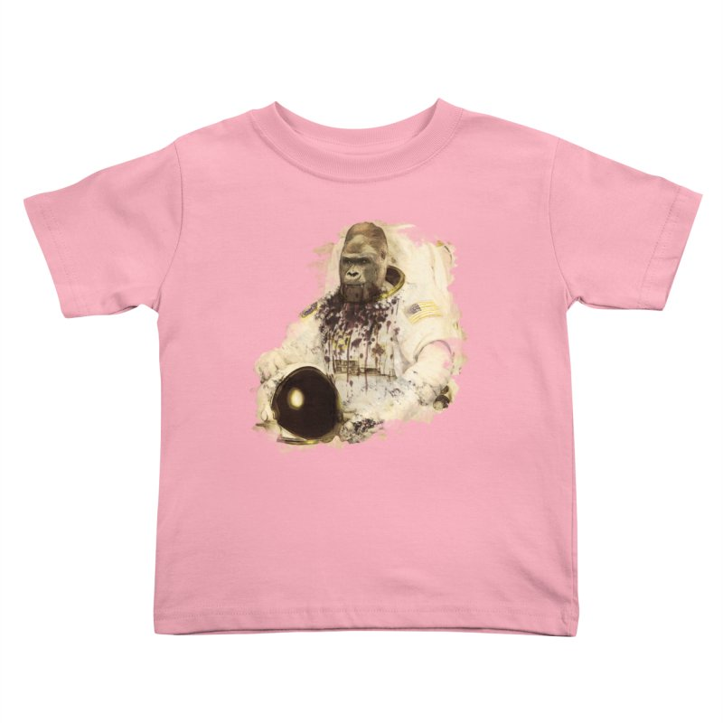 Space Kids Toddler T-Shirt by edulobo's Artist Shop