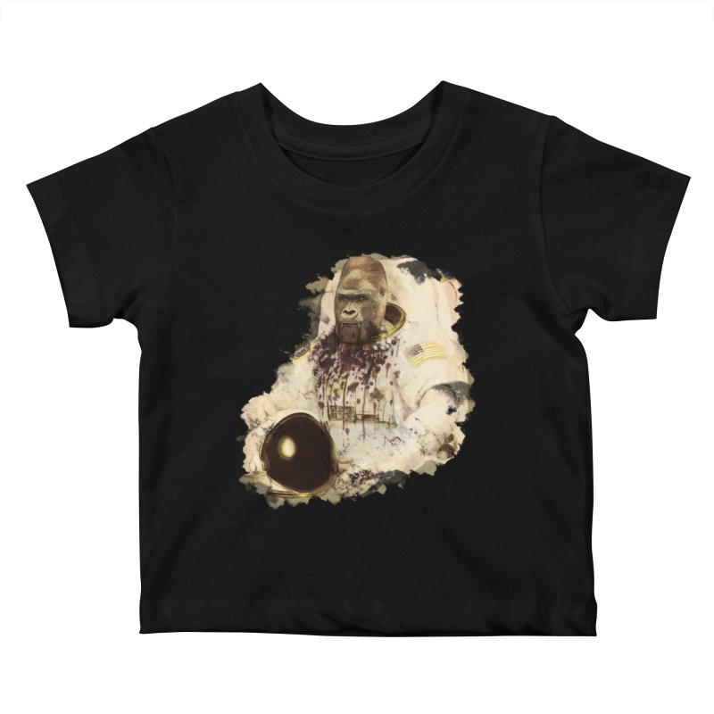 Space Kids Baby T-Shirt by edulobo's Artist Shop