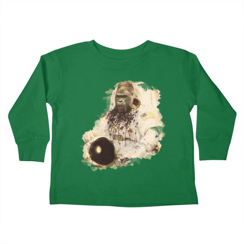 Space Kids Toddler Longsleeve T-Shirt by edulobo's Artist Shop
