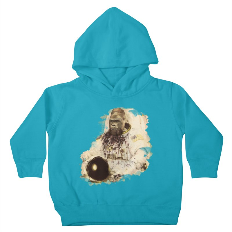 Space Kids Toddler Pullover Hoody by edulobo's Artist Shop