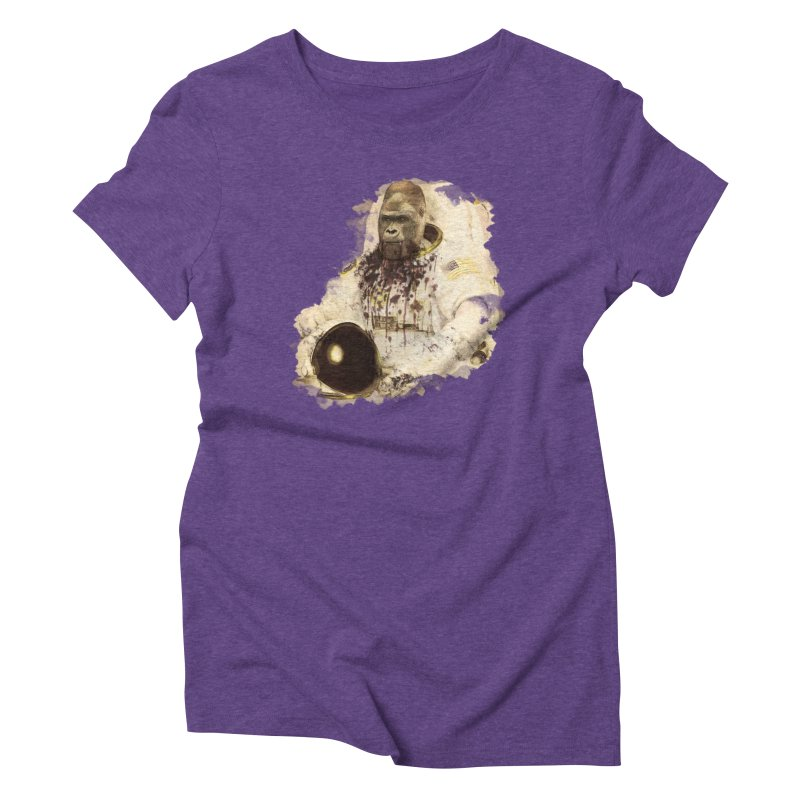 Space Women's Triblend T-Shirt by edulobo's Artist Shop