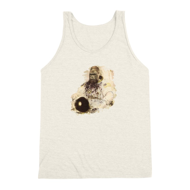 Space Men's Triblend Tank by edulobo's Artist Shop